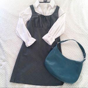 American Eagle 100% Wool Empire Waist Mini Dress 2